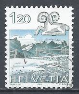 Switzerland 1982. Scott #719 (U) Signs Of The Zodiac, Aries, Graustock  * - Suisse