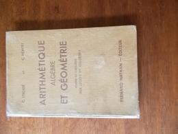 ARITHMETIQUE ALGEBRE ET GEOMETRIE - CLASSE DE 5e -C.LEBOSSE & C.HEMERY - Books, Magazines, Comics