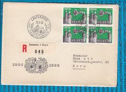 Special Stamped Cover Switzerland  - 1000 Lausanne - Entiers Postaux