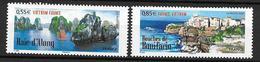 France 2008 N° 4284/4285 Neufs Paysages De France Et Du Viet Nam à La Faciale - France