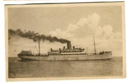 SS A.P. BERNSTORFF Esbjerg C. 1912 - Dampfer