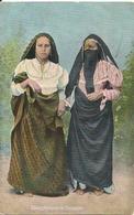 Cpa Egyple  2 Femmes De Damiette - Damietta