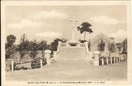 49 - SAINT SULPICE - Le Calvaire De La Mission1934     35 - Autres Communes