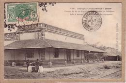 HAUT SENEGAL ET NIGER - OBLITERATION SUR CARTE POSTALE SOUDAN , SATADOUGOU ET BAFOULABE - COLLECTION FORTIER - 1911 - Haut-Sénégal Et Niger (1904-1921)