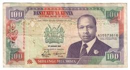Kenya 100 Shillings 02/01/1992 - Kenia
