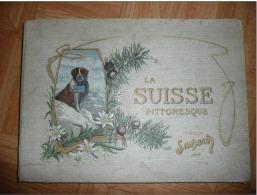 OP15- Album Collecteur  Images Vignettes  - Chocolat SUCHARD - La Suisse Pittoresque - Vers 1900 - Edition Française - Suchard