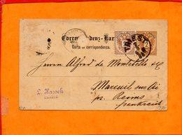 AUTRICHE, Carte Postale Entier Postal Avec Complement D'affranchissement, De Trieste Pour Reims - Entiers Postaux
