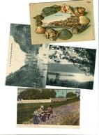 VIGO 4 Postales 1905-10 - Sonstige