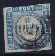 Holstein Und Luaenburg  Mi  6 Obl./Gestempelt/used - Schleswig-Holstein