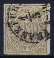Norddeutscher  Bund Mi  11 Obl./Gestempelt/used - Norddeutscher Postbezirk (Confederazione Germ. Del Nord)