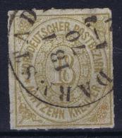 Norddeutscher  Bund Mi  11 Obl./Gestempelt/used - North German Conf.