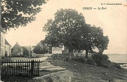 ORMES - LE PORT - LE QUARTIER - QSD8 - France
