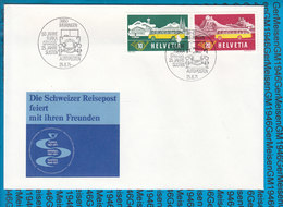 Special Stamped Cover Switzerland  - 3860 Meiringen - Entiers Postaux