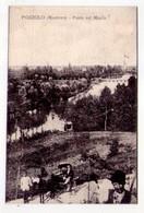 Cartolina/postcard POZZOLO (Mantova) - Ponte Sul Mincio. 1921 - Mantova