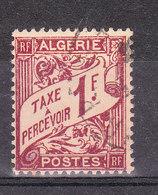 ALGERIE YT TAXE 9 Oblitéré - Algérie (1924-1962)