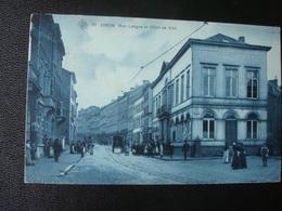 DISON : Rue Longue Et Hôtel De Ville   En 190? - Dison