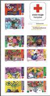 France 2018 - Yv N° BC1548 ** - Carnet - Croix-Rouge (Offrez Ces Fleurs à ...) (timbres 1548 à 1557) - Booklets