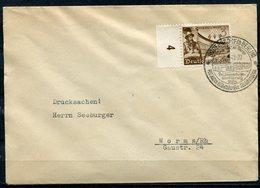 """German Empires,DR 1940 Drucksachen Bedarfsbrief Mit Mi.Nr.739 U.SST""""Rüdersdorf-Reichsautobahn-Überführung 1800 M""""1 Beleg - Brücken"""