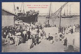CARTE ANCIENNE FRANCE SFAX ARRIVEE DU 17° LIGNE DEBARQUEMENT D'UNE MADONNE - Weltkrieg 1914-18