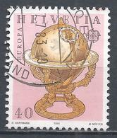 Switzerland 1983. Scott #737 (U) Europa, Celestial Globe, 1534 * - Oblitérés