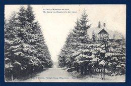 Le Camp D'Elsenborn En Hiver. Franchise Postes Militaires Belgique N°. 10 (Osterfeld, Bottrop). 1921 - Elsenborn (camp)