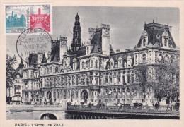 France N°1176 - Jumelage Paris-Rome - Carte Maximum - Maximum Cards
