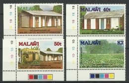 MALAWI 1989 25th ANNIV. OF UN CO-OPERATION SET MNH - Malawi (1964-...)