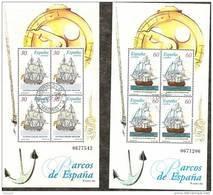 1996-ED. 3415 A 3416-BARCOS DE EPOCA-USADO- - 1931-Hoy: 2ª República - ... Juan Carlos I