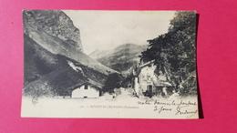 73 Savoie, Bonneval-les-Bains (Tarentaise), Animée, Commerce, 1903, (C. E. R.) - Bonneval Sur Arc