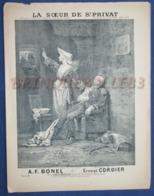COMPLAINTE PIANO GF PARTITION CHANT MILITARIA LA SOEUR DE ST PRIVAT 1889 CORDIER BONEL RABIER ILL BOUTILLIÉ BEAUQUESNE - Other
