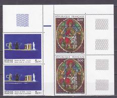 N° 2363 Et 2364 Série Artistique: Vitrail Et Nature Morte De Nicolas De Staël:Série En Paires De 2 Timbres Neuf - Unused Stamps