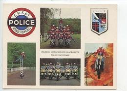 CRS N°1 Police - Peloton Motocycliste D'acrobatie Police Nationale (éd C M P N) Multivues - Police - Gendarmerie