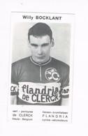 Willy BOCKLANT  Itegem  Wielrenner Coureur Cycliste  Flandria - Cyclisme