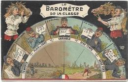 MILITARIA. CARTE HUMORISTIQUE.   LE BAROMETRE DE LA CLASSE - Humor