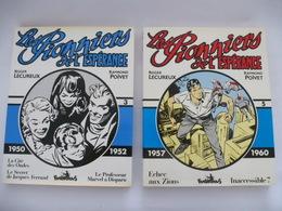 LES PIONNIERS DE L'ESPERANCE (LECUREUX Et POIVET) VOLUME 3 Et 5 Editions FUTUROPOLIS 1984 - Détails Sur Les Scans - Books, Magazines, Comics