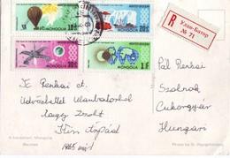 1965 Mongolia -  Registered  - Nice Stamp !!! - Mongolia