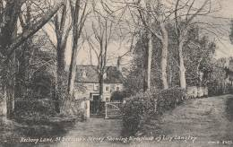 Jersey - Rectory Lane , St Saviour's. Jersey Showing Birthplace Of Lily Langtry- Scan Recto-verso - Jersey