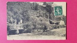 46 Lot, Gouffre De Thémines, La Rivière Disparait à Cet Endroit Et Va Sortir à Lacave, Animée, 1914, (Paita) - France