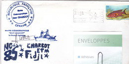 ILES FIJI - POISSON : (variola Louti -Fairy Cod,lunar Tailed Cod) Navire Océanographique Jean CHARCOT En Escale - Fiji (1970-...)