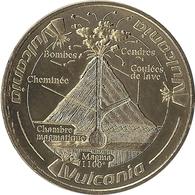 2018 MDP265 - VULCANIA 16 - Le Volcan En Coupe (4) / MONNAIE DE PARIS - Monnaie De Paris