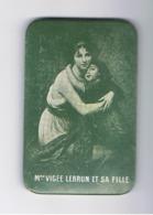 Miroir De Poche Publicitaire = Atrtiste Peintre ,peinture,..... Mde Elisabeth VIGEE LEBRUN Et Sa Fille (fr60) - Publicité