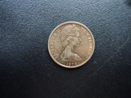 NOUVELLE ZÉLANDE : 1 CENT  1970   KM 31.1    SUP - New Zealand