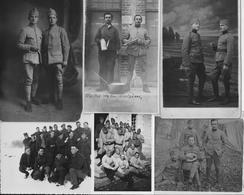 Thème MILITAIRE - Lot De 6 Cartes-photos Et Photographies - Diverses - Guerre, Paix WW - A Voir ! - Militaria