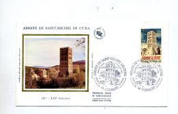 Lettre Fdc 1985 Codalet Abbaye - 1980-1989