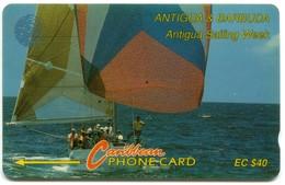 ANT-7C Sailing Week 7CATC, White, Normal Zero - Antigua And Barbuda