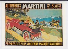 Martini St-Blaise Suisse. Reproduction D'affiche. Elzingre - Altri