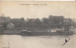 02- Vic Sur Aisne  Panorama Vu Du Port - Vic Sur Aisne