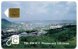 St. Maarten - Tel-Em SX-TEM-0006B - Simpsonbay Lagoon 120 Units (Chip GEM1B Red) - Antilles (Netherlands)