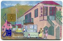 St. Maarten - Tel-Em SX-TEM-0008 - Nostalgic Communications - Talking On The Street (Chip GEM1A Black) - Antilles (Netherlands)