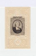 Image Pieuse  De B.J.B. De La Salle. Sur Fond  Sur Fond Découpé Type Canivet. (118) - Images Religieuses